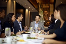 Fogo group dining business meeting