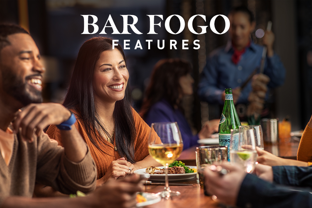 Bar Fogo Features.